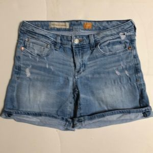 Anthropologie Pilcro Stet Distressed Jeans Shorts